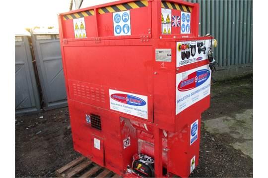 Stewart Energy Lister engined blown insulation machine
