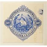 Foreign Countries - Guatemala -1932 Revenue issue -Proof (Perforated Waterlow & Sons Limited) of