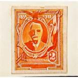 Leonard Douglas Fryer (British, 1891-1965), unidentified sketches and designs -1930s - 1940s -