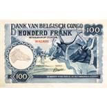 Leonard Douglas Fryer (British, 1891-1965), currency artwork - Belgian Congo - watercolour designs