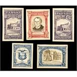 Leonard Douglas Fryer (British, 1891-1965), Foreign Countries - Panama -1949 200th Anniversary of