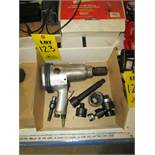 "JET JSG-0750 Pneumatic Impact Wrench, 3/4"" Drive, 4200 RPM, 90 PSI, SN 120183, With Misc. Sockets"