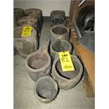 Used Smelting Crucibles