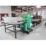 UNI HYDRO 42-14 Hydraulic Ironworker, 42 Ton, Serial 3P4203X
