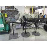 (3) Industrial Shop Fans