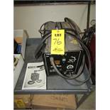 CHICAGO ELECTRIC MIG 18- Wire Feed Welder, Item 68886, for Mild and Stainless Steel, With Manual