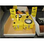 (2) CD GEIGER Counters