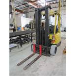 HYSTER S50XM Forklift, 3 Mast, Side Shift, Serial D187U256982, 4,400 LB Cap, Weight 8970 LB, Front