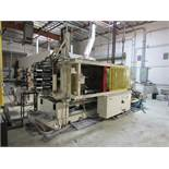 1992 MITSUBISHI 610 MG-110 4 Post Horizontal Extrusion Press With Electrical Controls, Operator