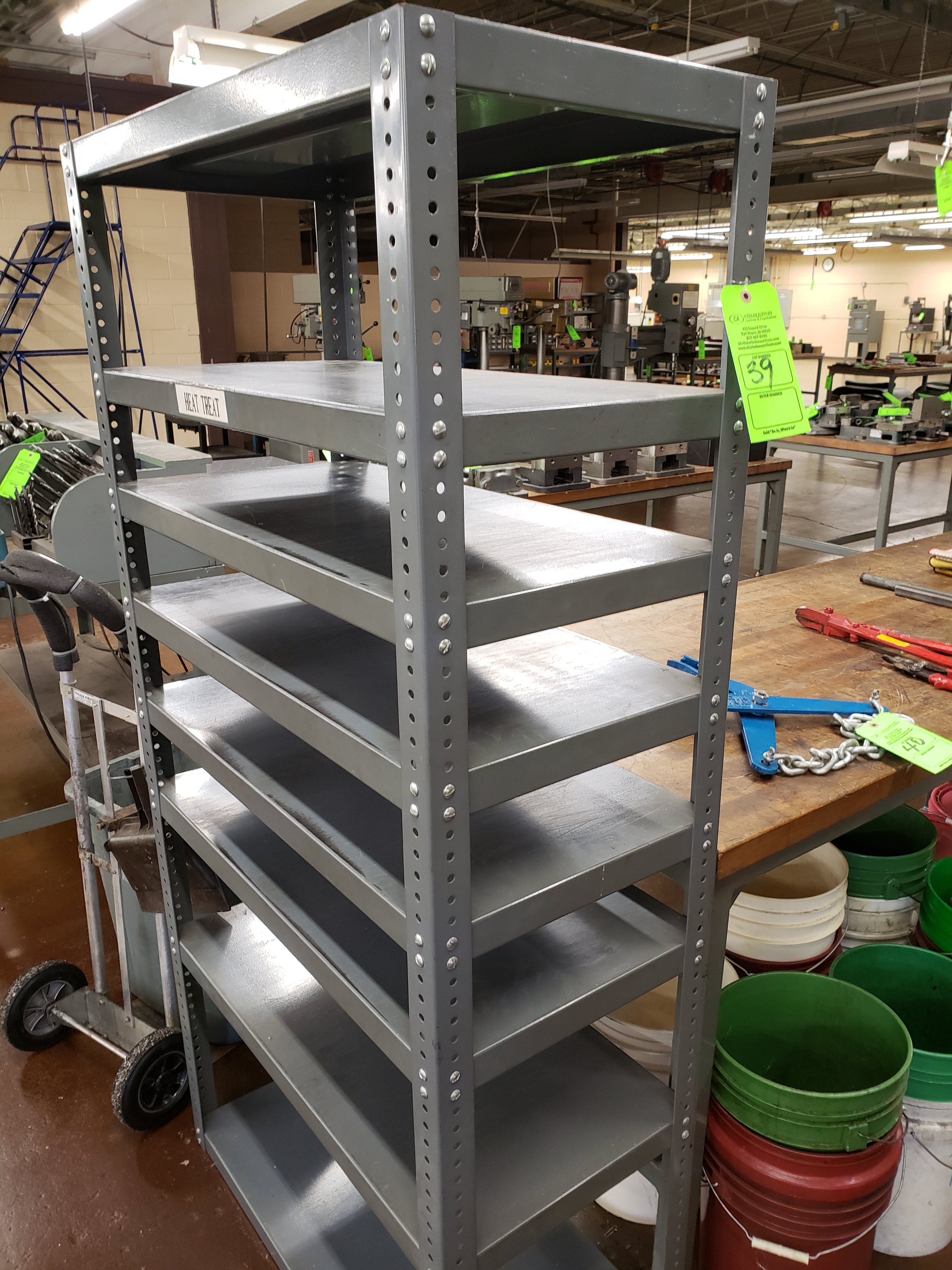 Lot 39 - (1) SECTION PAN SHELVING