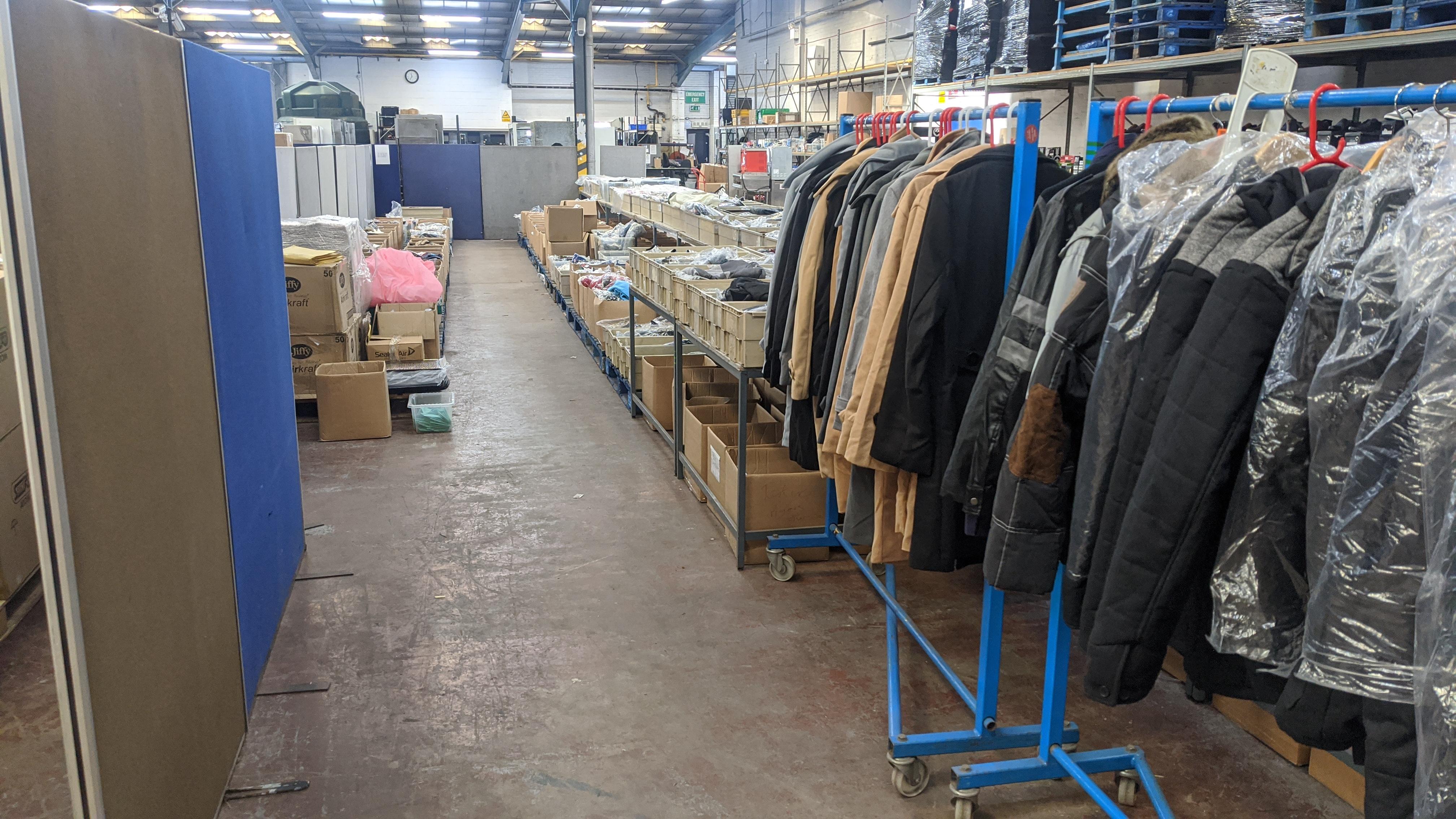 Very large quantity of primarily men's designer clothing & accessories. - Image 8 of 157