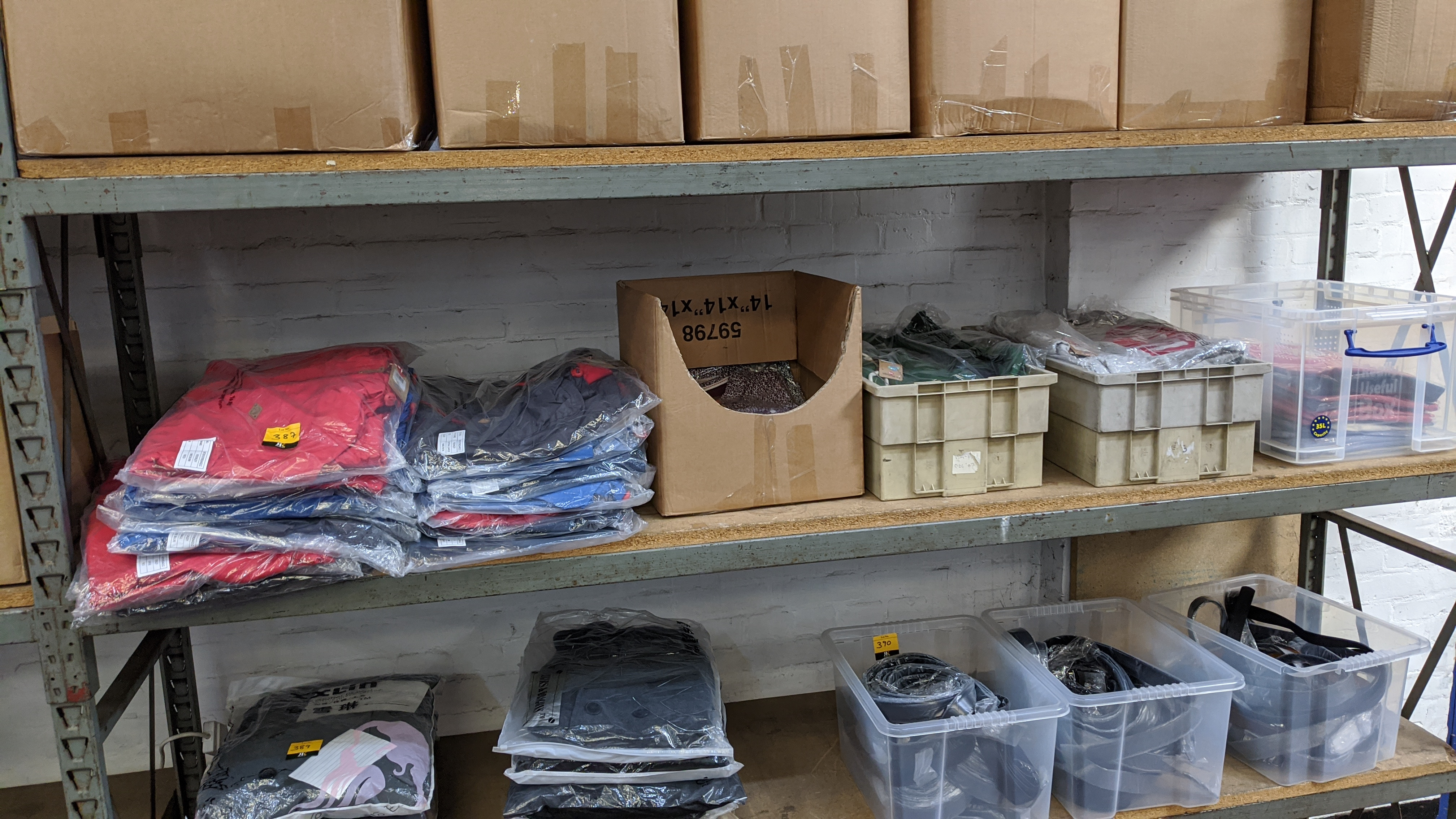 Very large quantity of primarily men's designer clothing & accessories. - Image 150 of 157
