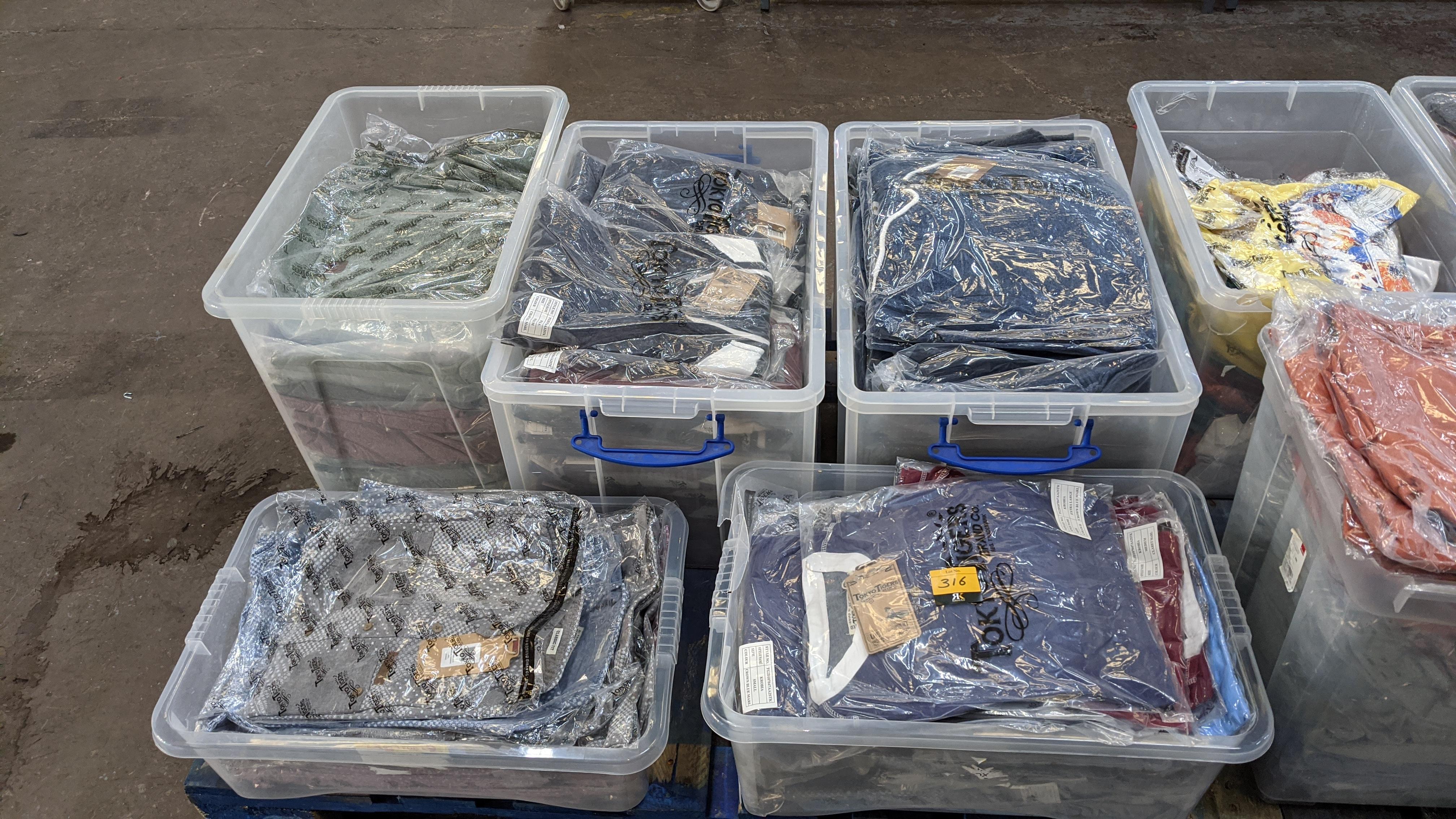 Very large quantity of primarily men's designer clothing & accessories. - Image 79 of 157