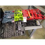 Multi Tool Kits - Amazon Basics Screwdriver set, Stanley Black Chrome Socket Set, Hi Spec Garage