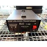 (2) Simran Step Up & Down Transformers, MDL#ELC T-1500