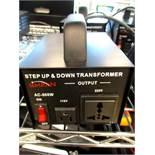 (2) Simran Step Up & Down Transformers, MDL#AC-500W