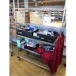 Assorted PPE - Gloves, Ear Plugs, Glasses and Statshield Jackets (Rack not included)