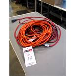 100' Husky Extension Cord and 10' Cord