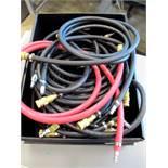 Assorted air line hoses