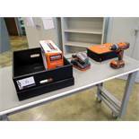 Ridgid 18v Lithium-Ion 2 Speed Drill/Driver with (2) batteries & charger