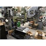 "Hercules 3'/8"" Radial Arm Drill With Riser Table. s/n 2252"