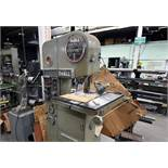"DoAll Contour Matic ""16"" Vertical Bandsaw. Model No 16-3. s/n 124-59212. w/ Buttwelder"