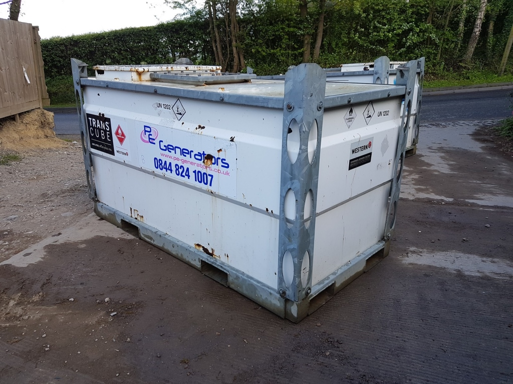 Western transcube 2000 litre bunded fuel tank our ref 2 for Internet providers 44107