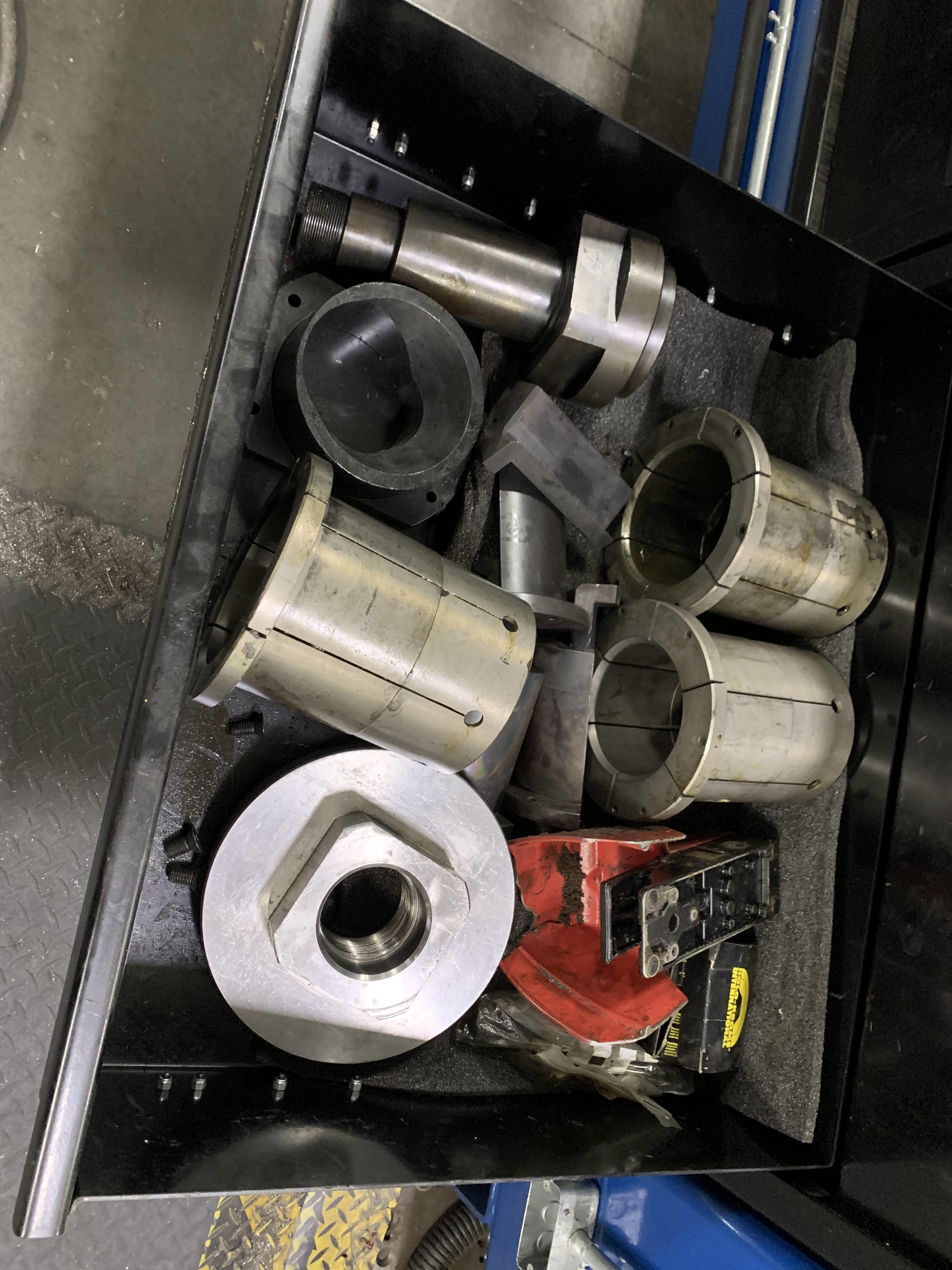 "6"" UNISON MODEL 6"" MS RH ELECTRIC CNC MULTI-STACK TUBE BENDER; S/N 2715, JOB NO. ME 4-410,(NEW 2014) - Image 52 of 72"