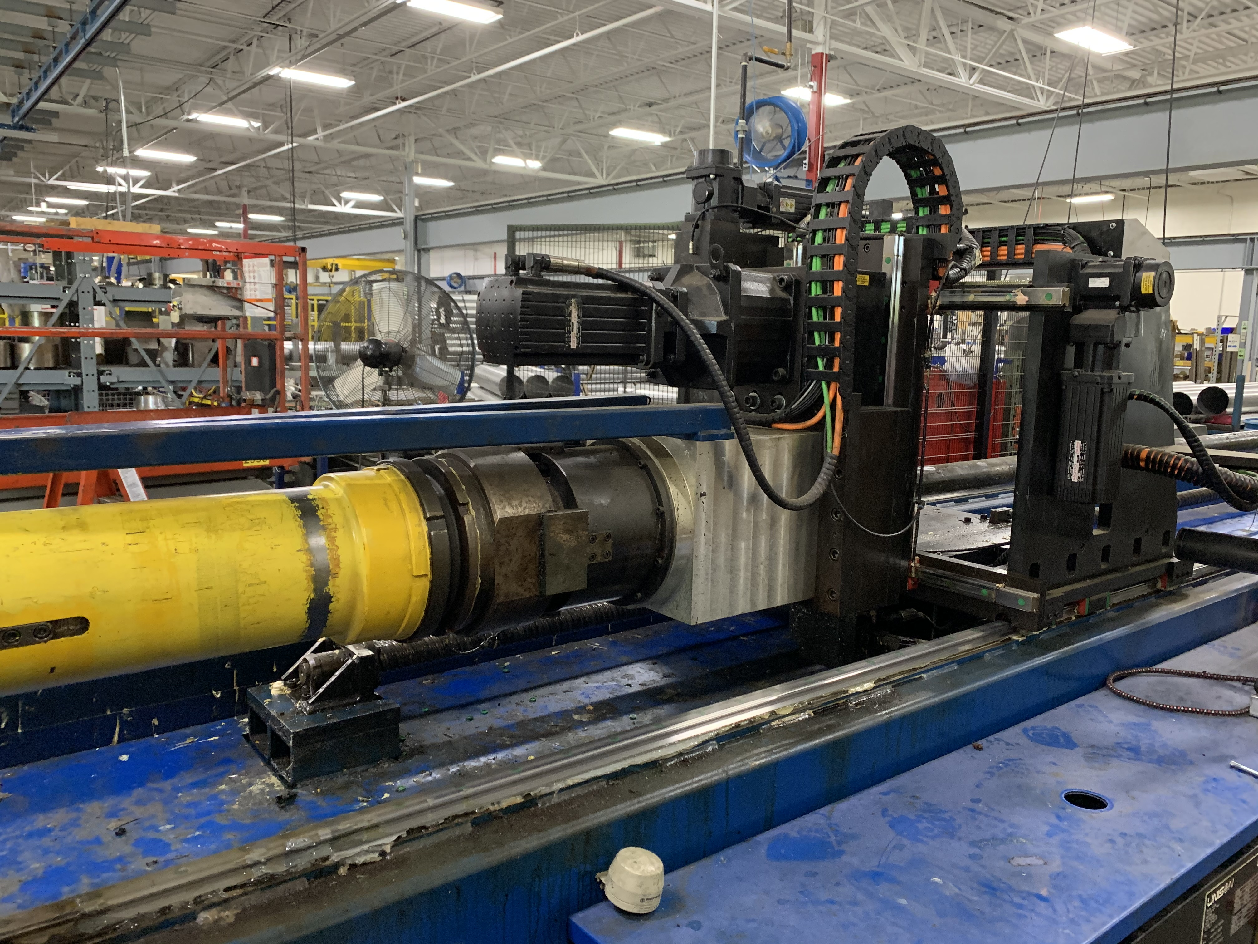 "6"" UNISON MODEL 6"" MS RH ELECTRIC CNC MULTI-STACK TUBE BENDER; S/N 2715, JOB NO. ME 4-410,(NEW 2014) - Image 29 of 72"
