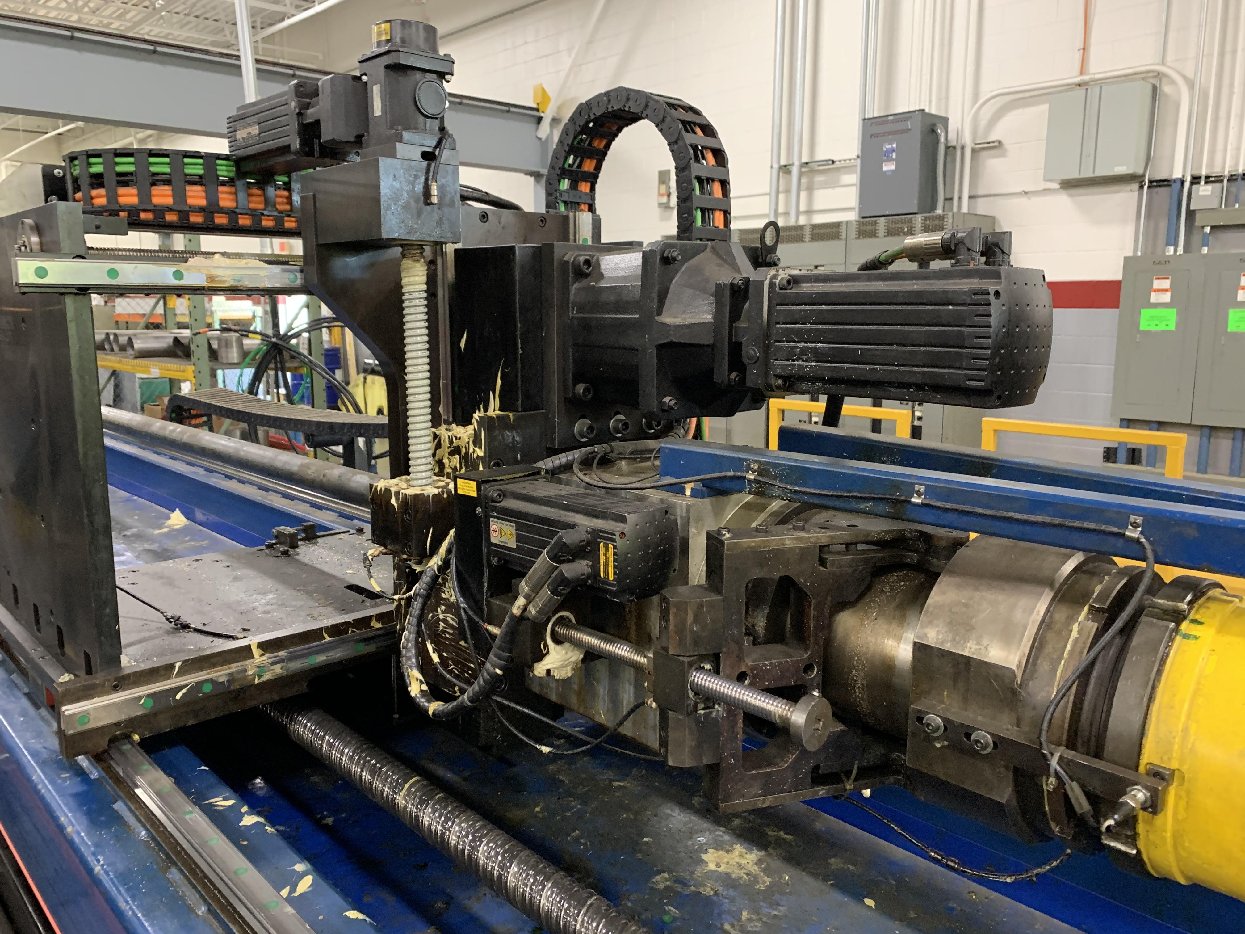 "6"" UNISON MODEL 6"" MS RH ELECTRIC CNC MULTI-STACK TUBE BENDER; S/N 2715, JOB NO. ME 4-410,(NEW 2014) - Image 18 of 72"