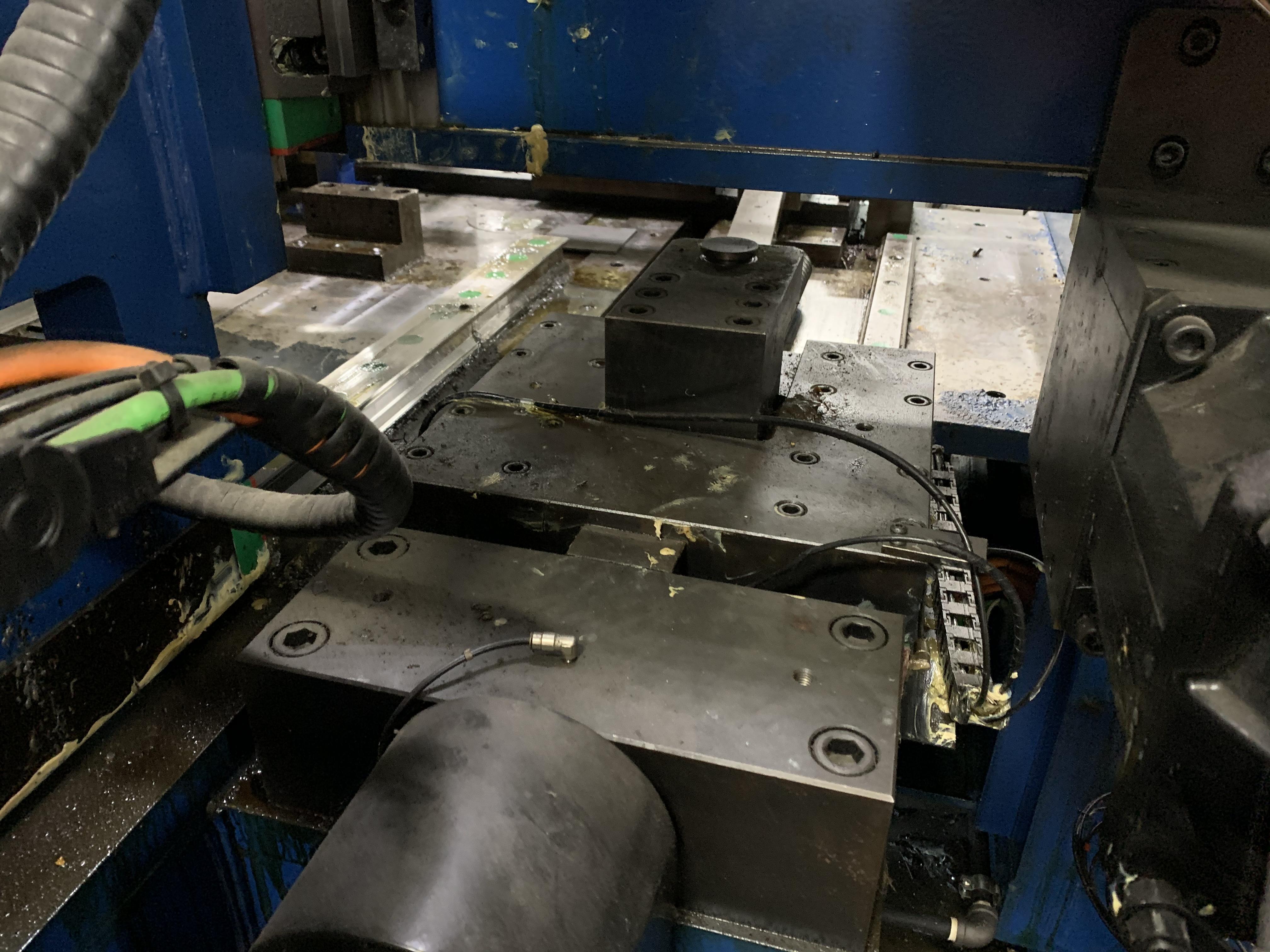 "6"" UNISON MODEL 6"" MS RH ELECTRIC CNC MULTI-STACK TUBE BENDER; S/N 2715, JOB NO. ME 4-410,(NEW 2014) - Image 26 of 72"