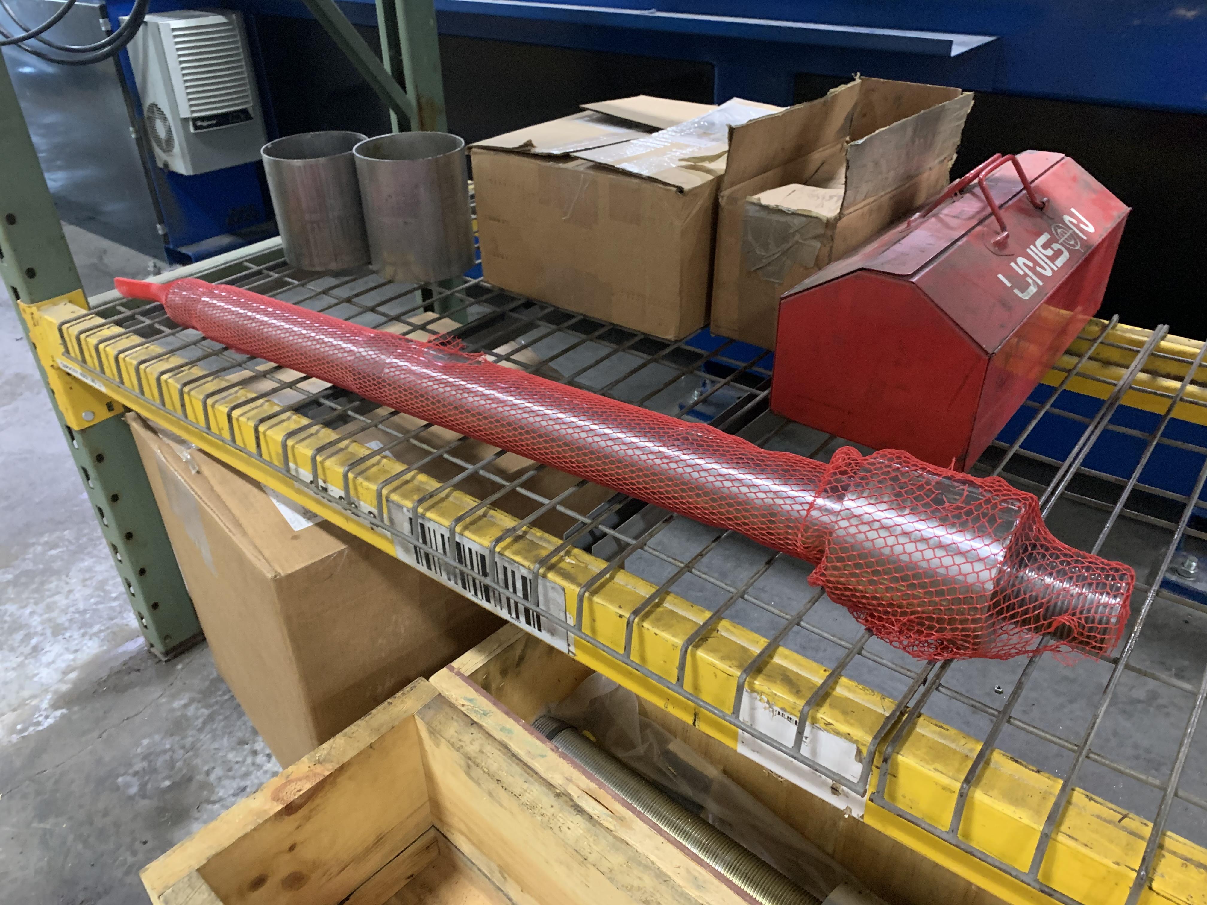 "6"" UNISON MODEL 6"" MS RH ELECTRIC CNC MULTI-STACK TUBE BENDER; S/N 2715, JOB NO. ME 4-410,(NEW 2014) - Image 68 of 72"