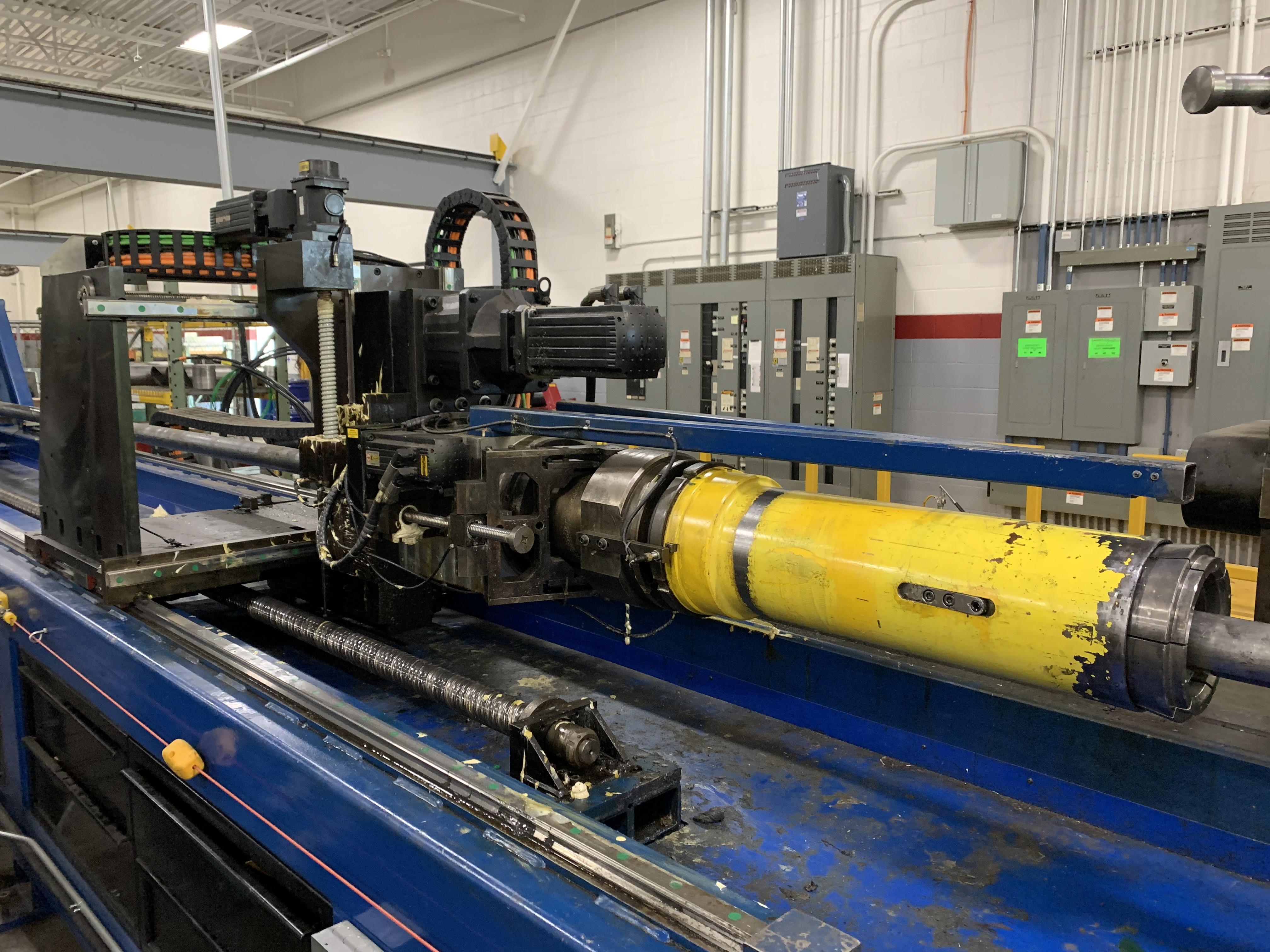 "6"" UNISON MODEL 6"" MS RH ELECTRIC CNC MULTI-STACK TUBE BENDER; S/N 2715, JOB NO. ME 4-410,(NEW 2014) - Image 17 of 72"