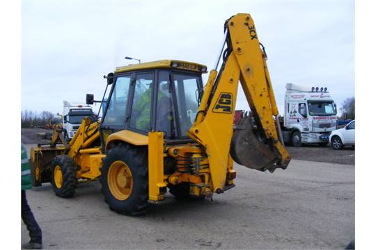 JCB 3CX Project 8 with Manual Box & Turbo Engine  Piped