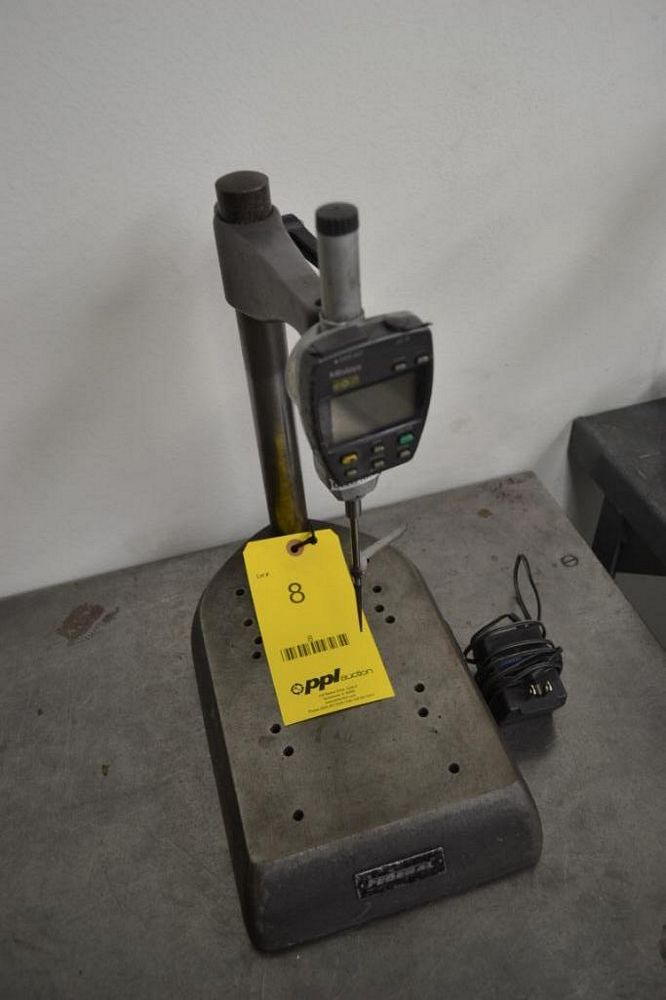 Federal Stand with Mitutoyo Digital Thickness Gauge