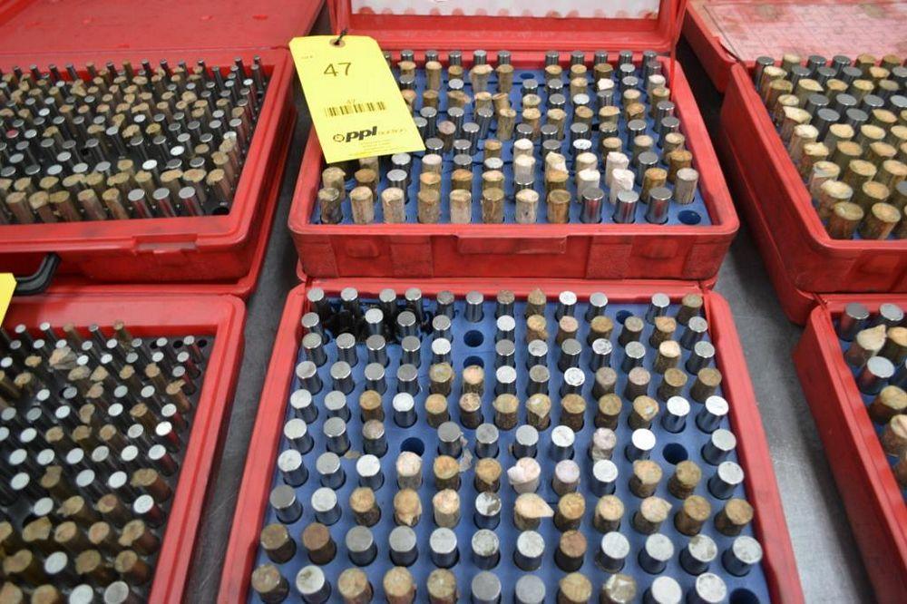 LOT: (2) Pin Gauge Sets