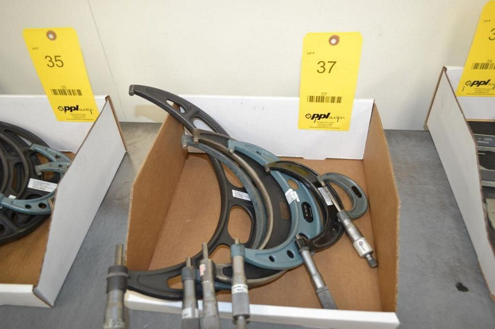 LOT: (6) Outside Micrometers