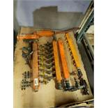 LOT OF ASSORTED PROCESS WATER MANIFOLDS