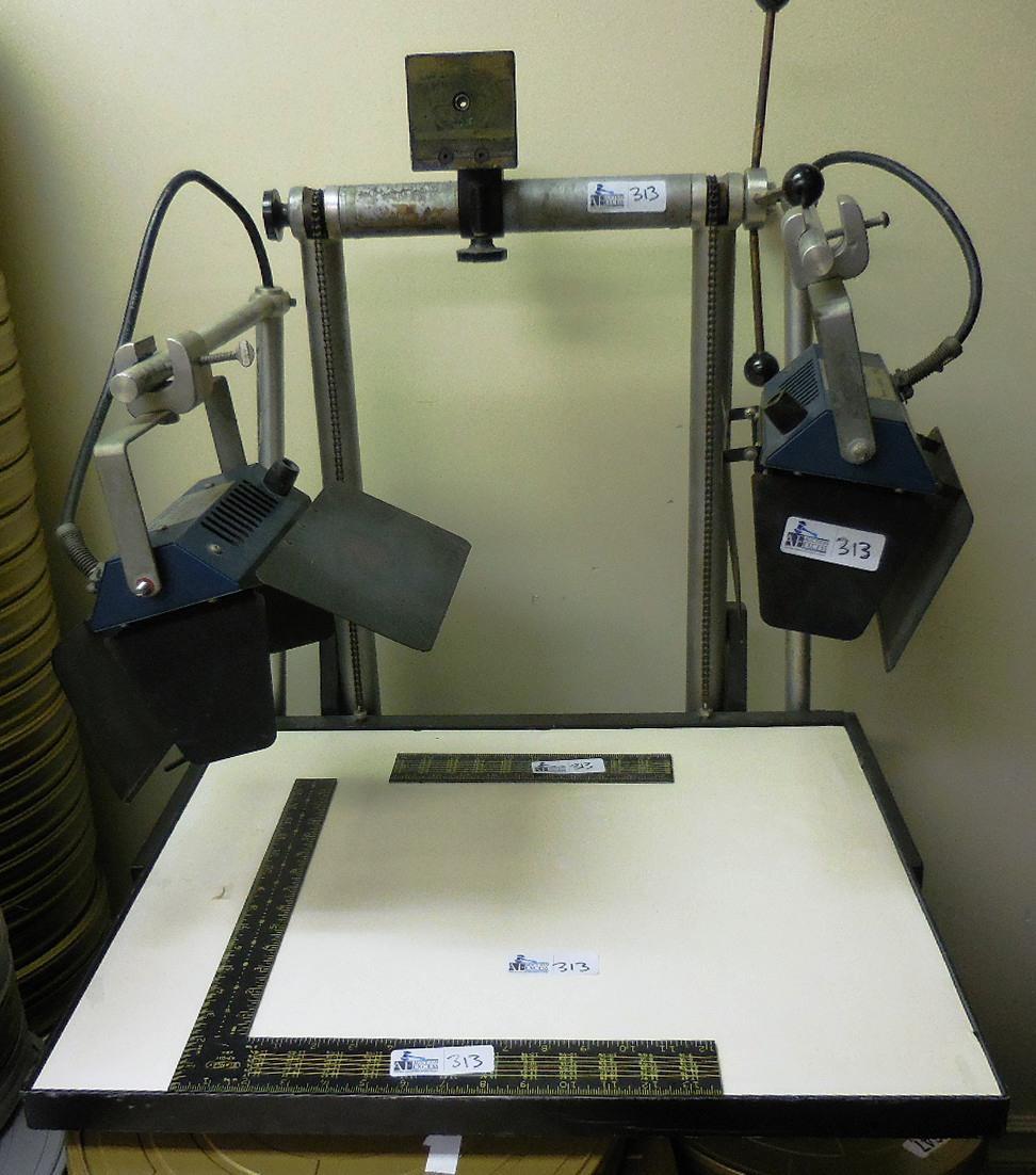 Camera Stand w/2- Colortran Lights