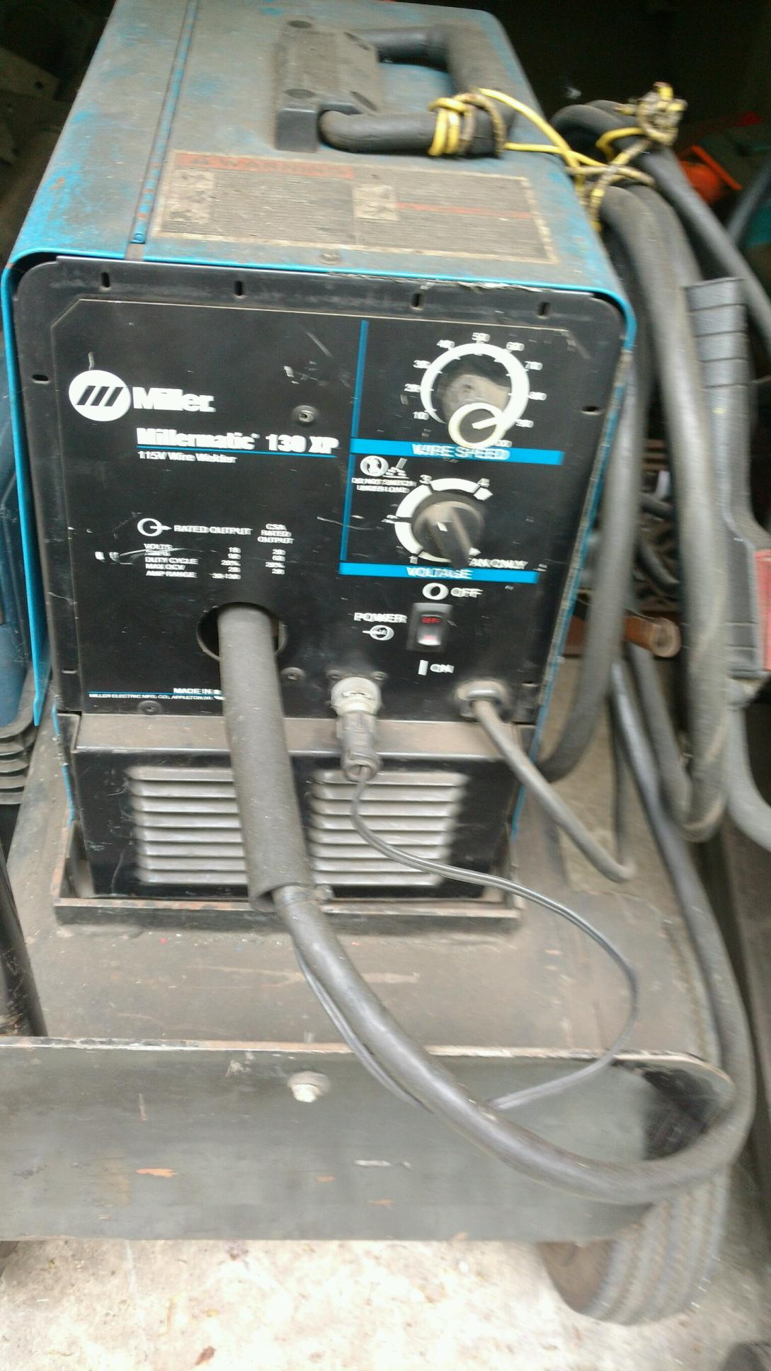 Millermatic 180 Autoset 230v Wire Welder Sn907312 01 1 Wiring A Lot 193