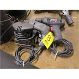 SKIL CHUCKLESS AND BLACK AND DECKER 3/8 IN. DRILLS