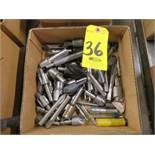 ASSORTED PILOT DRILLS AND COUNTERSINKS