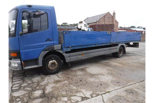 2004 MERCEDES BENZ ATEGO DROPSIDE SCAFFOLDING LORRY 251811KM