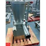 Agnelli Tortellini Filling Pump Model A540 Rigging Fee: $100