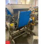 2012 Agnelli Single Sheeter Model A540 : SN S905.650, Mounted on Portable S/S Frame Rigging Fee: $