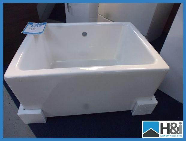 ... Kitchen Sink. High Quality Ceramic. 460mm x 600mm x 300mm. Typical