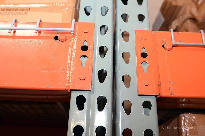 Lot 6 - Tear Drop Style Pallet Racking