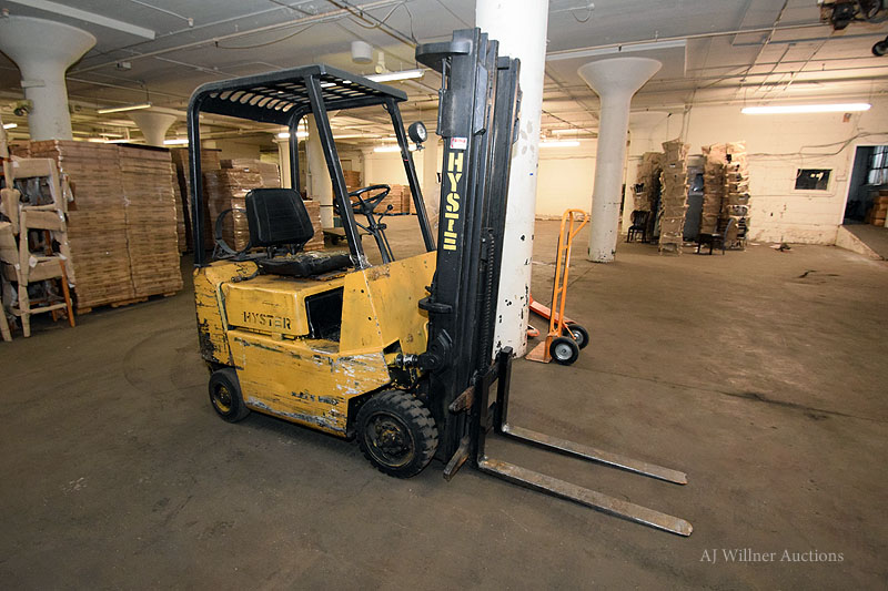 Lot 2 - Hyster Model S30XL 3,000 lbs. Capacity, LPG Forklift