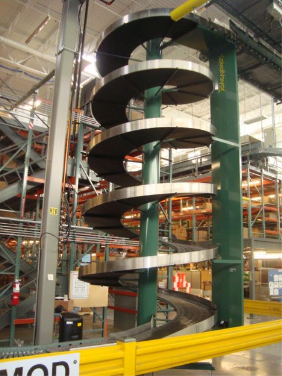 Lot 212 - Elevating Spiral Conveyor