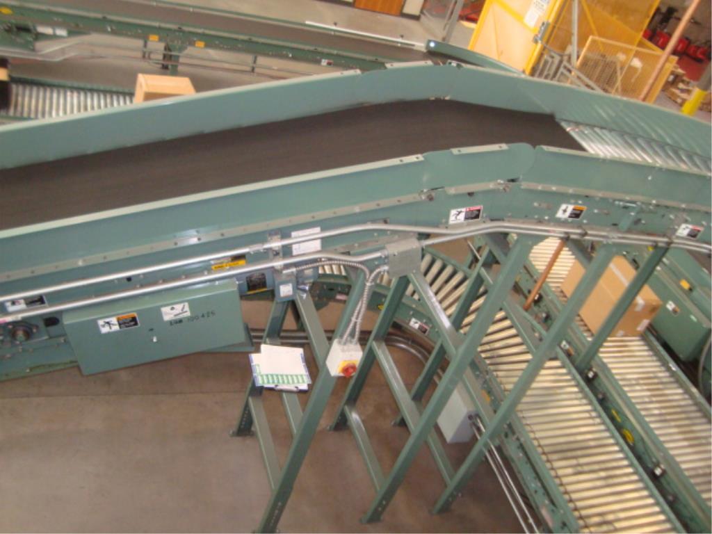Lot 187 - Powered Belt Conveyor